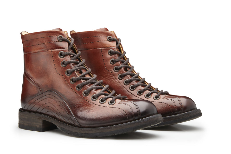Holly Motorcycle Boots By Umberto Luce