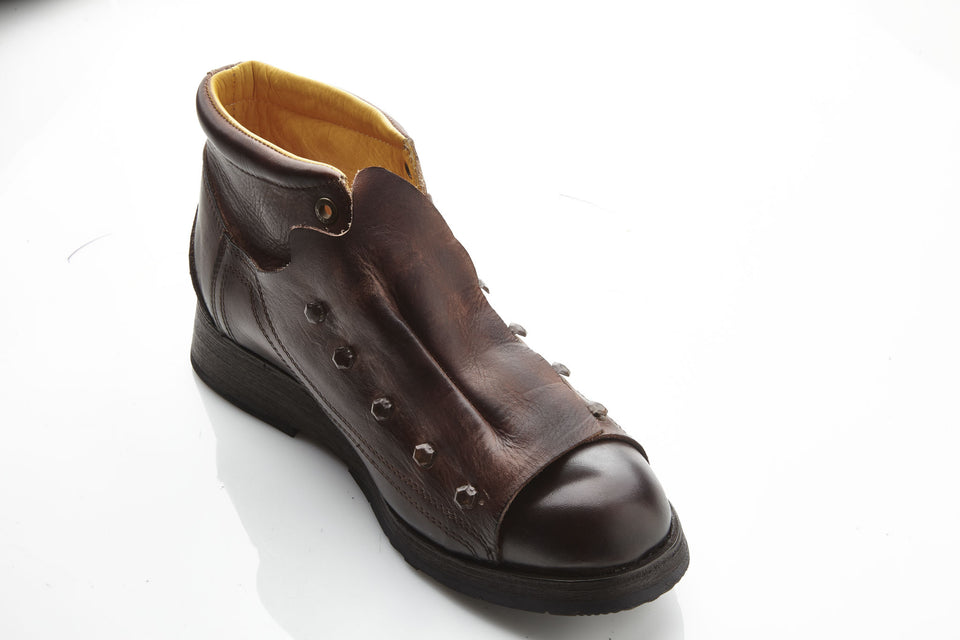 Lawrence Ankle BootsLeather - Umberto Luce