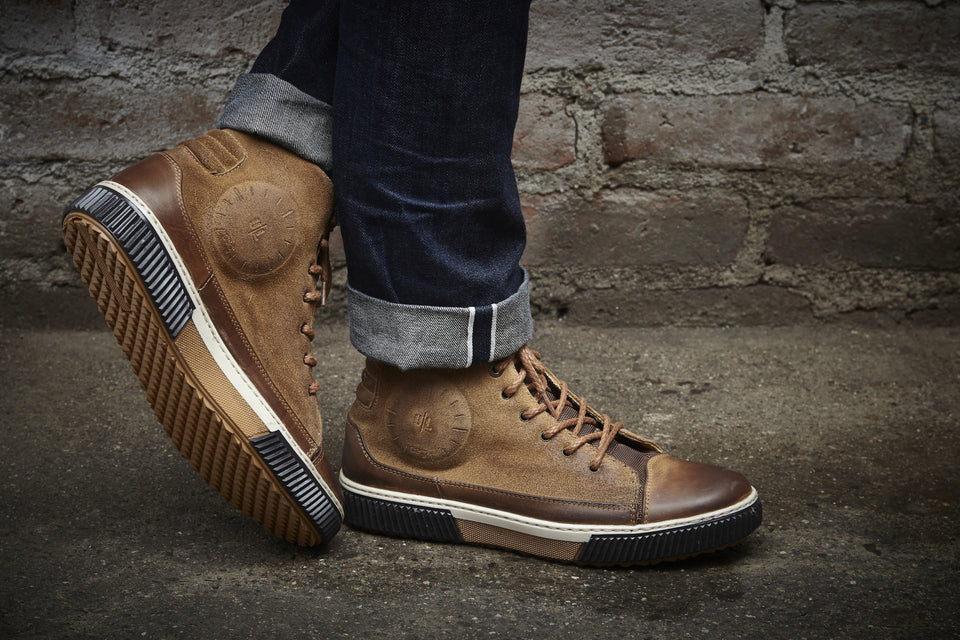 Lee Motorcycle Sneakers By Umberto Luce