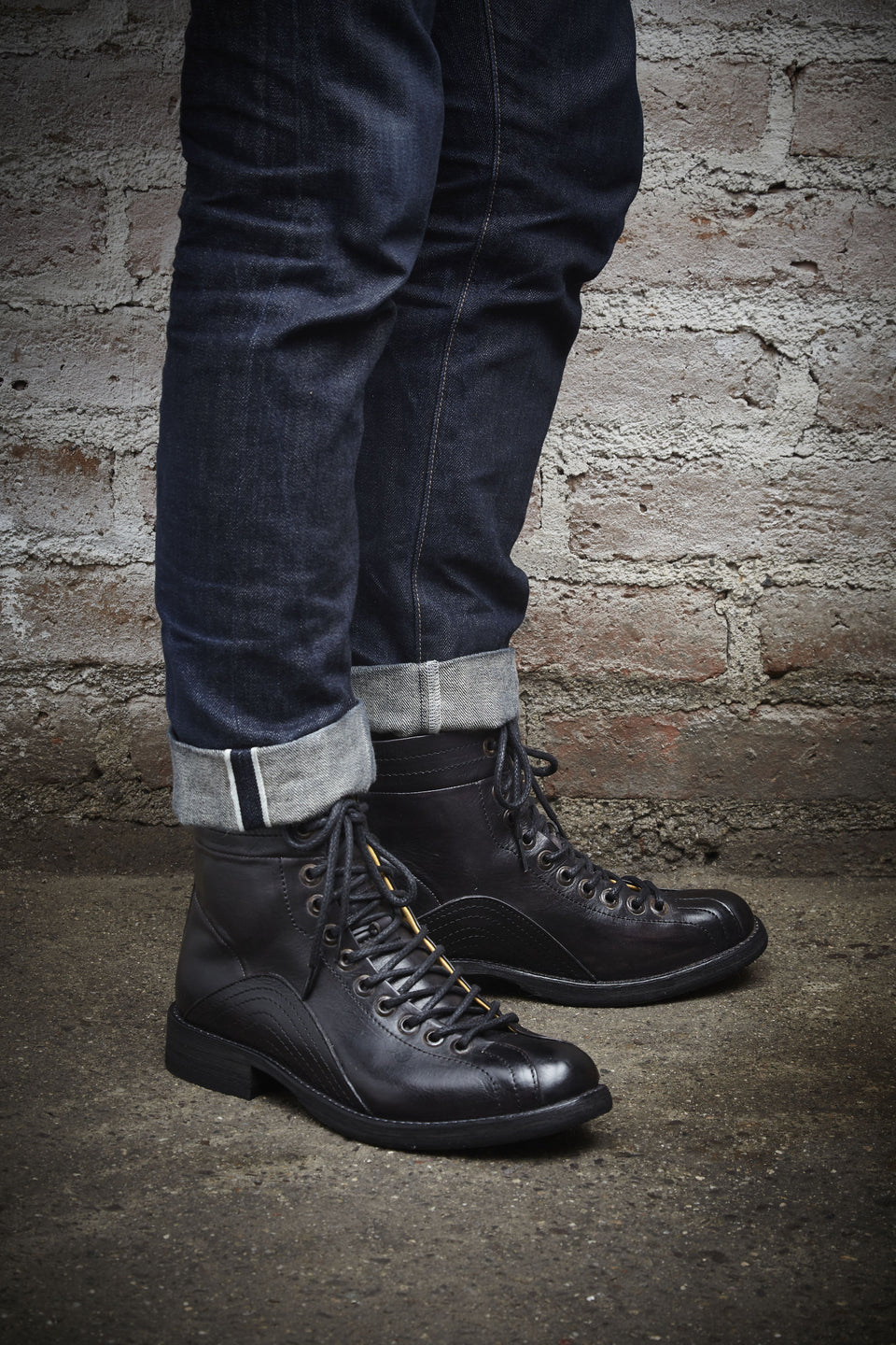Lubbock Motorcycle Boots By Umberto Luce