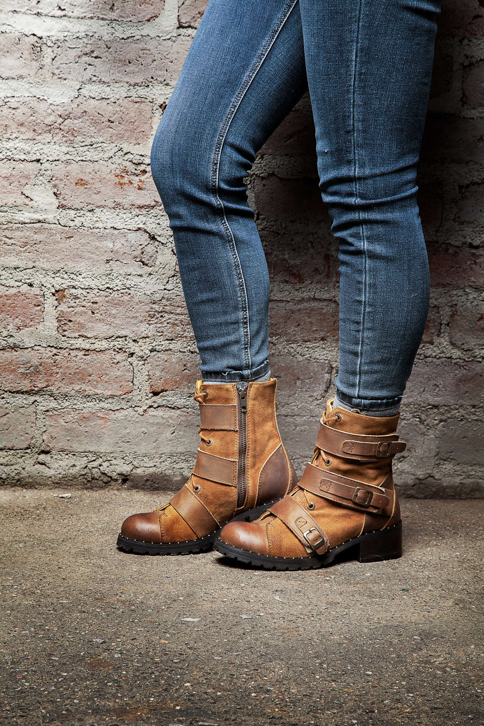 Maffeo Women Motorcycle Boots By Umberto Luce