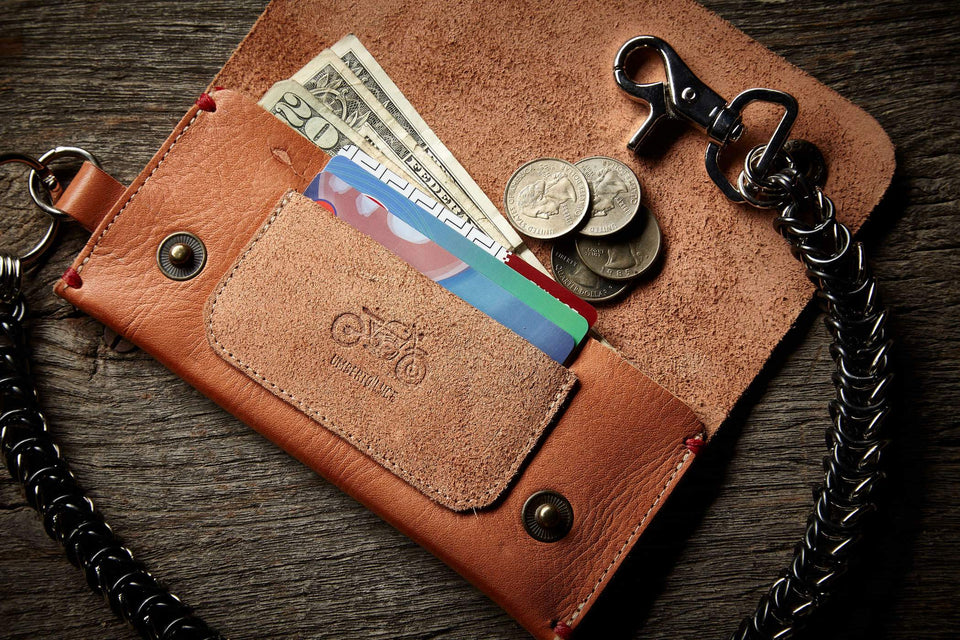 Mark Wallet Blue