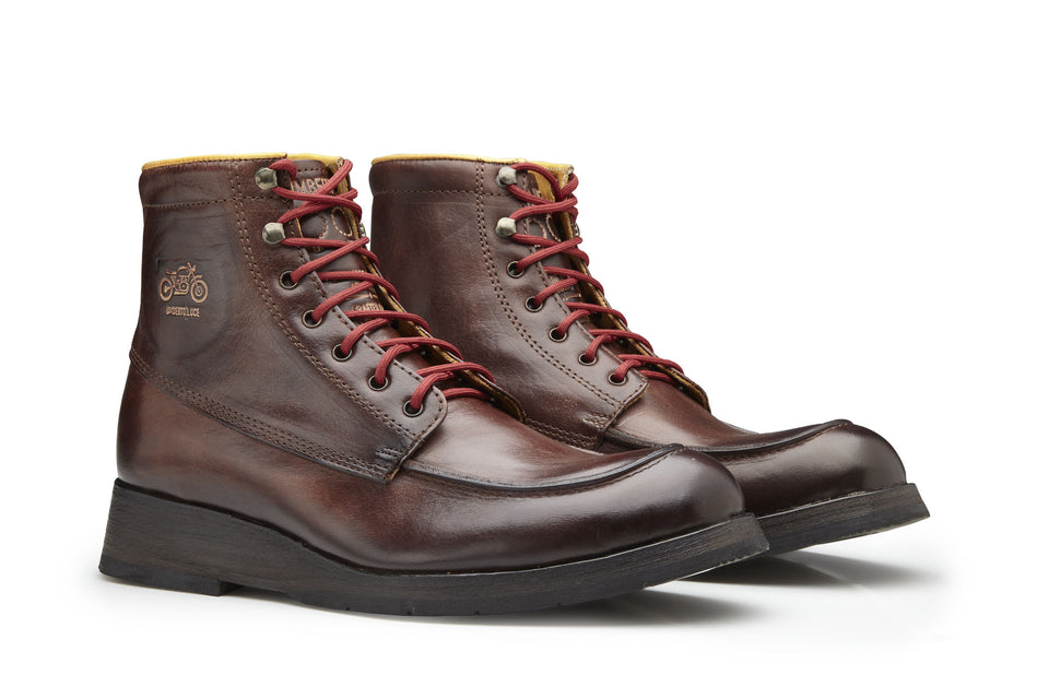 Maxwell Motorcycle Boots By Umberto Luce