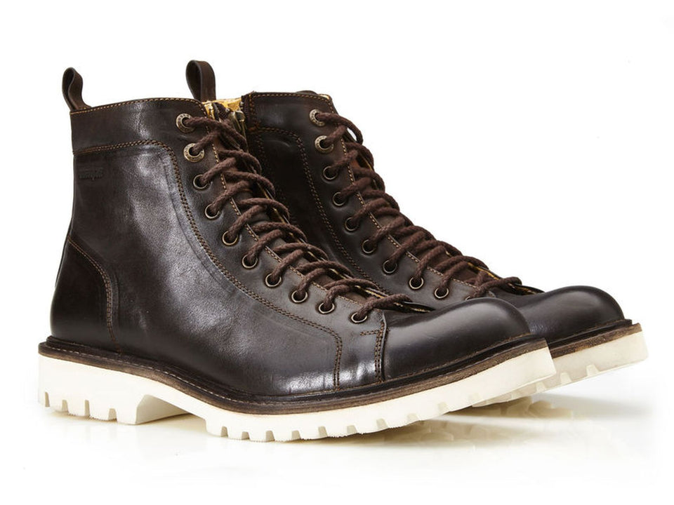 Ryder Handmade Men Leather Ankle Boots By Umberto Luce