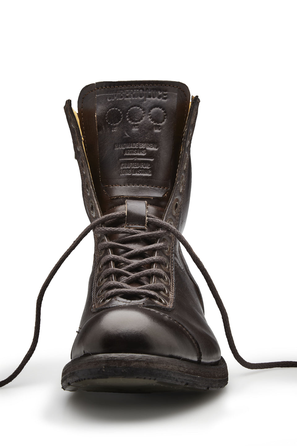 Wallach Motorcycle Boots By Umberto Luce