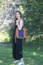 MOCCA FRINGE VEGAN LEATHER BAG