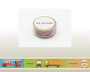 Washi Tape - Vehicle