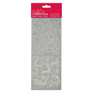Stickers - Sleigh Ride Silver