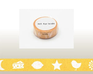 washi tape Color Yellow