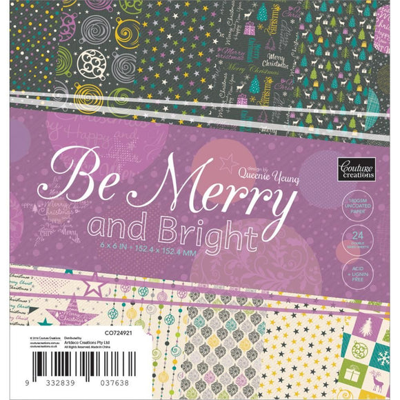 Blocco carta 15x15 cm - Be  Merry and Bright