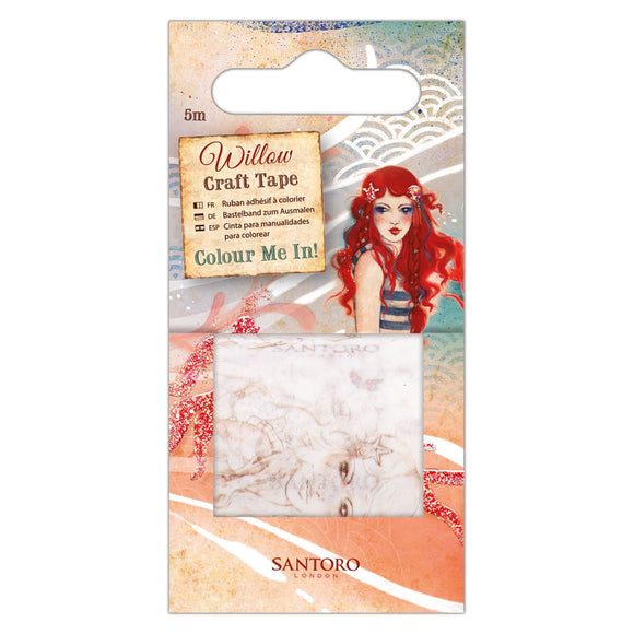 Colour Me In Craft Tape - Santoro Willow