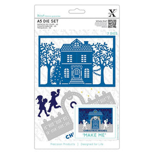 Set fustelle Xcut A5 - Christmas House