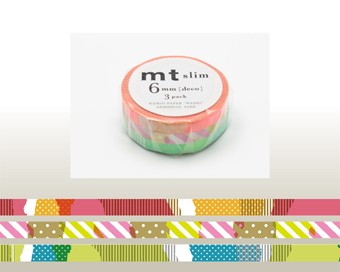 Washi Tape - Deco E