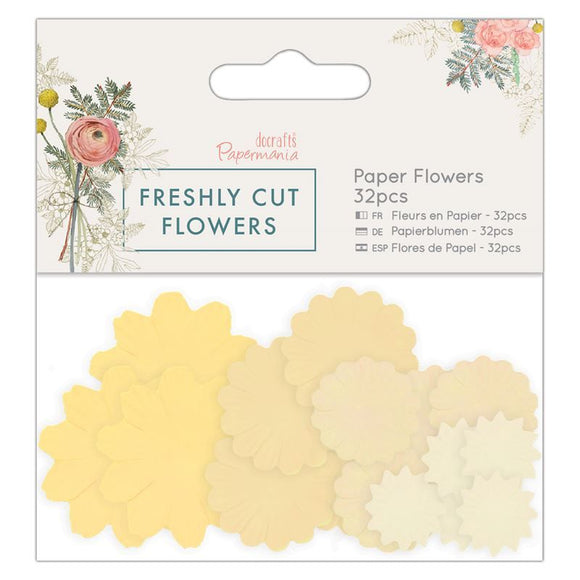 Set 32 fiori in carta - Freshly Cut Flowers