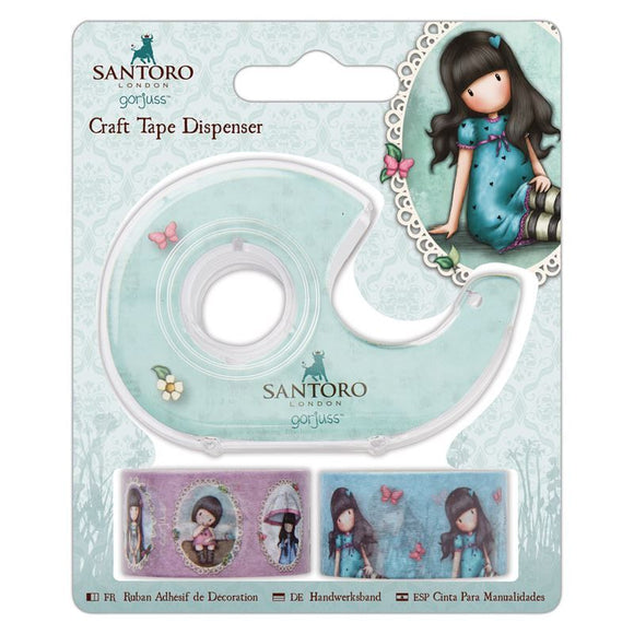 Craft Tape Dispenser - Santoro Gorjuss