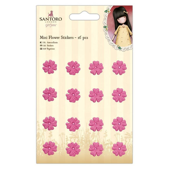 FUORI TUTTO - Mini Flower Stickers - Santoro Gorjuss