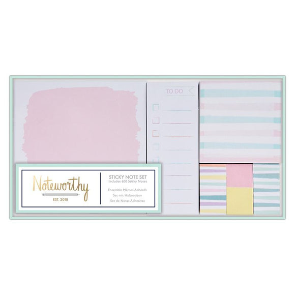 !! Sticky Notes Set - Pastel Hues