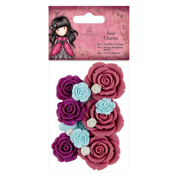Rose Charms - Gorjuss Vintage Rose