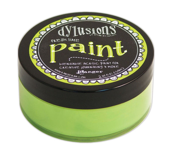 Dylusions Paints - Fresh Lime
