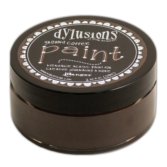 Dylusions Paints - Ground Coffee