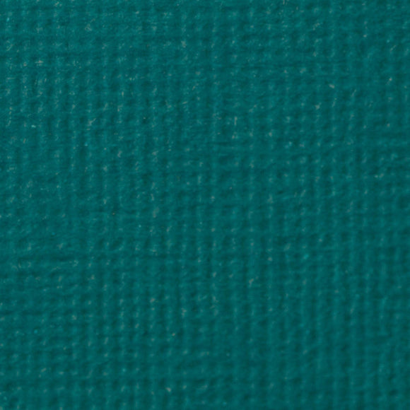 Set 5 fogli 30x30 cm Craft Perfect Textured - Teal Blue
