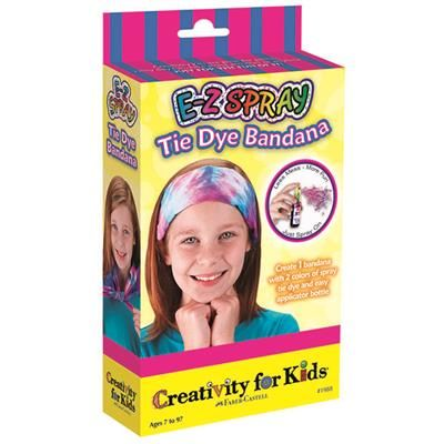 Mini Kit - E-Z Spray Tie Dye bandana