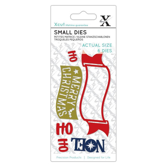 Fustelle Small Xcut - Festive Sentiments