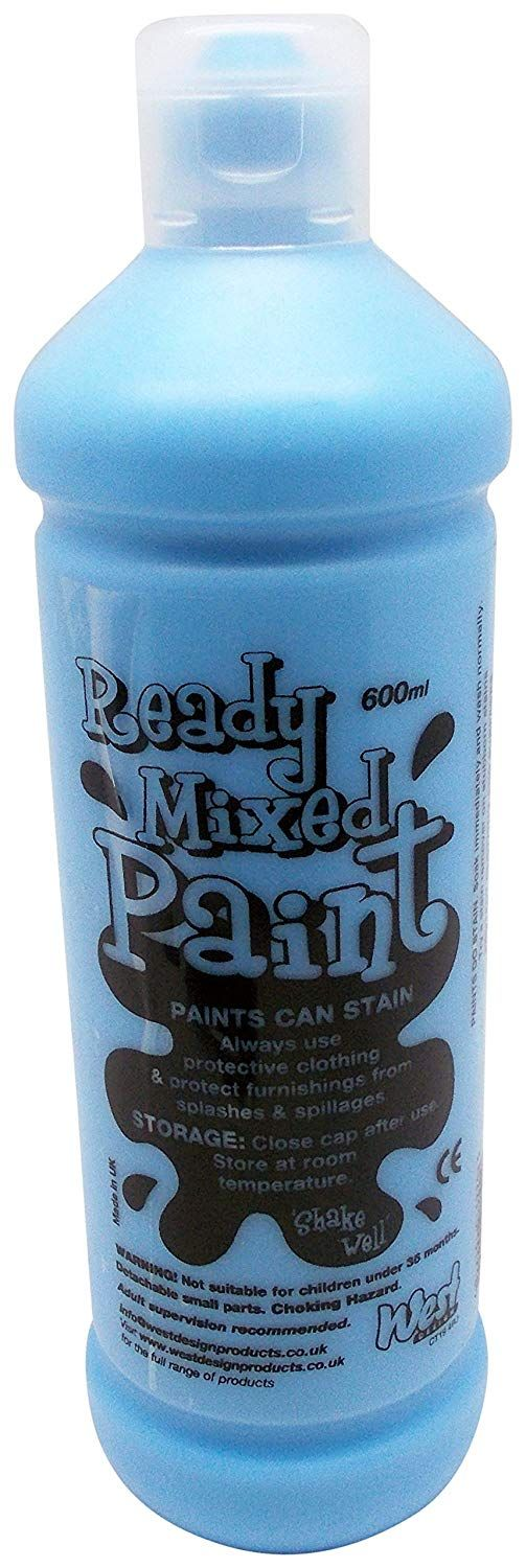 ! Ready Mix Paint 600 ml - Sky Blue