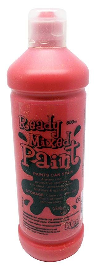 ! Ready Mix Paint 600 ml - Rosso Brillante