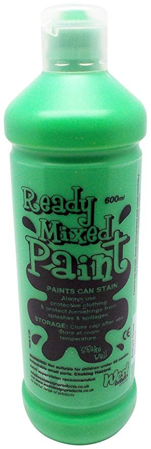 ! Ready Mix Paint 600 ml - Verde Brillante