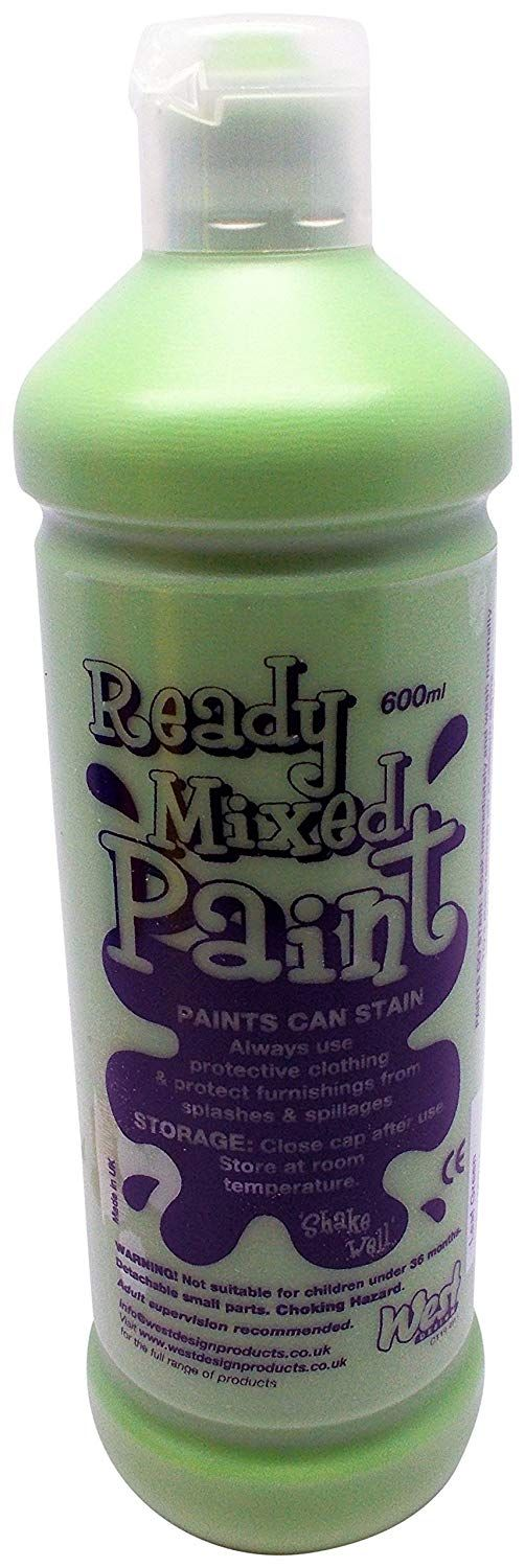 % Ready Mix Paint 600 ml - Verde Foglia