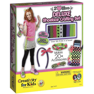 !!! Deluxe Shoelace Crafting Kit