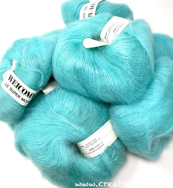 Lotto T012 - WELCOMME LE SUPER MOHAIR - Mohair (200gr)