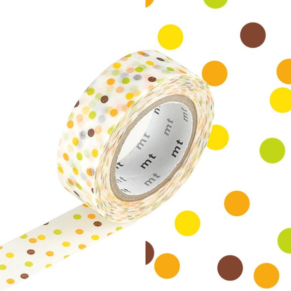 Washi Tape - Drop yellow
