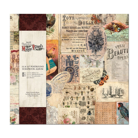 Scrapbooking album 30x30 cm - Madame Payraud