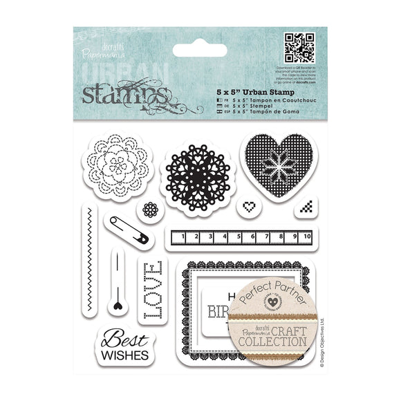 Urban Stamps - Craft Collection Pastels