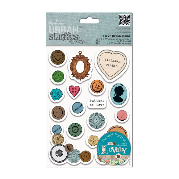 FUORI TUTTO - Urban Stamps - Mixed Buttons