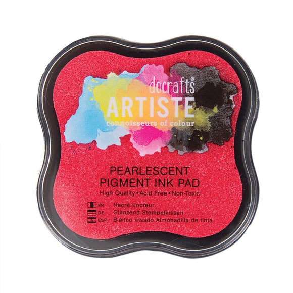 Tampone Pigment Ink - Pearlescent Soft Pink