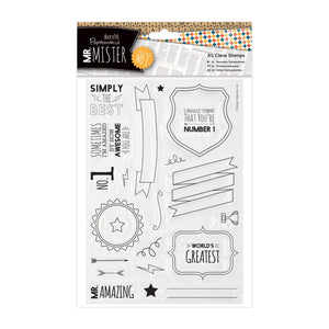 FUORI TUTTO - Clear Stamps - Mr Mister Text