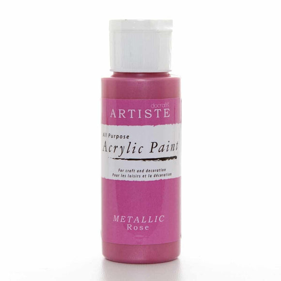 ! Colore acrilico - Metallic Rose