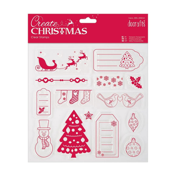 Clear Stamps -  Merry Christmas