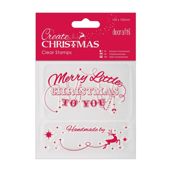 FUORI TUTTO - Clear Stamp - Merry Christmas