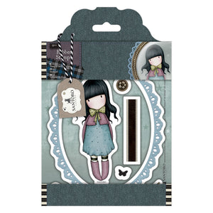 "Rubber Stamps - Santoro Tweed ""Waiting"""
