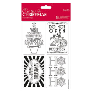 Clear Stamps - Gift Tags
