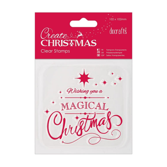 Clear Stamp - Magical Christmas
