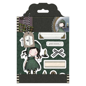 "Rubber Stamps - Gorjuss Tweed ""Nightlight"""