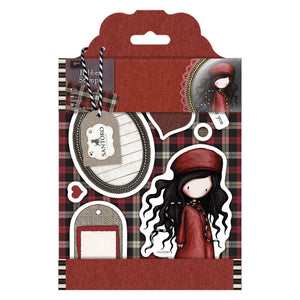 "Rubber Stamps - Gorjuss Tweed ""The Winter's Night"""