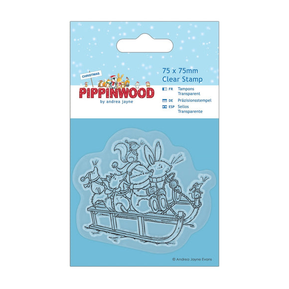 FUORI TUTTO - Clear Stamp - Pippinwood Christmas