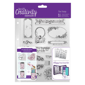 A5 Clear Stamp Set - Musicality