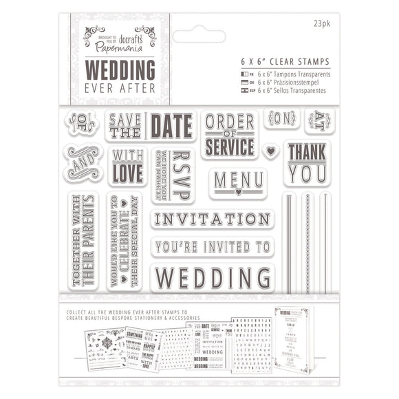 Clear Stamps - Sentiments